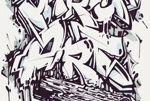 Graffiti / Graffiti-words