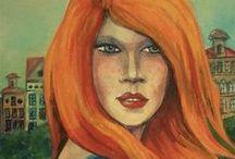 Portraits paintings   MARTA BOLLA'S / Emberábrázolás, portrék, hangulatok. -  A képek eladók