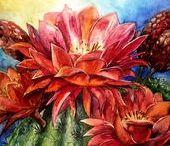 Flower paintings MÁRTA BOLLA'S / Virág festményeim