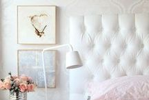 Bedrooms-Headboards / by Christie Richardson