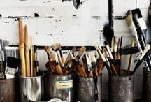 Pen & Paintbrush