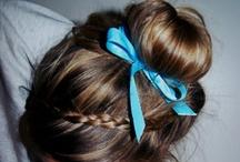 cute hairstyles / by Skylar Woods