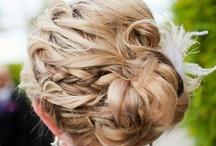 wedding hair // / bridesmaids hair ideas