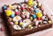 Easter treats / Traditional simnel cakes and hot cross buns, plus more sugar and spice for the Easter weekend.