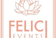 Felici Events Logo / www.felicievents.com logo and branding