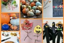 Holiday: Autumn and Halloween Ideas / Fall DIY decorations and fun! Crafts, food, games, and more