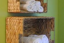 Bathish & Laundry / Remodels, organizing, creating, tips & recycling for bathroom & laundry. / by Linda Sue Collins