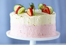 ☼ Summer bakes ☼ / Light, fresh and fruity recipes.