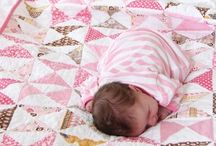 Quilt / Baby shoes
