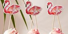 Foodie Flamingos / The August 2017 issue of BBC Good Food magazine is the 'Cool' issue - we're focusing on all the ways you can cool down this summer. And what summer is complete without flamingos? From inflatable flamingos to flamingo salt and pepper shakers - we're ALL OVER this summer's coolest trend... #bbcgfflamingo