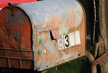 Mail boxes  / by sheryl stow