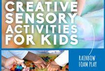 Sensory Play / Sensory play ideas for preschool