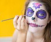 Halloween Kostüme, Make-Ups & Deko / Tolle Halloween Kostüme, Make-Ups und Gruseldeko.