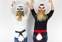 Kostüme selber machen / Kostüme selber nähen und herstellen für Fasching, Halloween, Kinder und mehr.