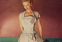 1950's Fashions / All the beautiful dresses I love from the 1950's