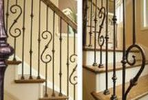 Railings/Guidance Systems / So much more than just a supplemental means by which to reach various levels within your home, Outwater's Traditional Handrails and Fittings in Red Oak provide an aesthetic and functional opportunity to create a striking architectural focal point. Outwater not only offers straight and bendable rails in twelve foot lengths, but also all necessary fittings to complete your entire staircase with elegance and style.