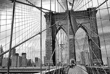 Brooklyn Bridge / Photography of New York's most famous bridge during the day, at dusk and at night. Framed fine art prints of these photos can be purchased from my website at http://andrewprokos.com.