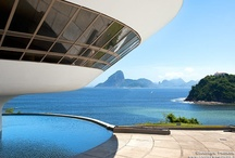 Oscar Niemeyer, Architect Extraordinaire / Photos of architecture by Brazil's most prolific architect, Oscar Niemeyer. Framed fine art prints of these photos can be purchased from my website at http://andrewprokos.com.
