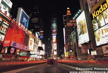 Times Square, NYC / Photography of New York's Times Square. Framed fine art prints of these photos can be purchased from my website at http://andrewprokos.com.