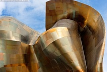 Frank Gehry / Photography of architecture by one of America's greatest 'starchitects'. Framed fine art prints of these photos can be purchased from my website at http://andrewprokos.com.