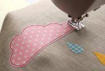 A coser...appliqué!!!