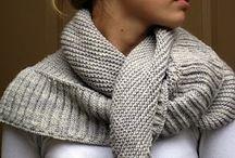 Knit & Crochet SCARVES