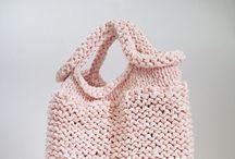 Knit & Crochet BAGS/PURSES