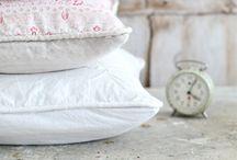 A coser...pillows !!!