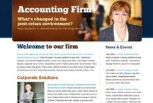 Accounting Websites / Get your website within minutes that too at very low prices