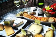 CHEESE & WINE / Thanks so much for all the wonderful pics, don't you just love a great glass of wine and cheese
