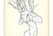 drawingssgniward / my illustrations http://sgniward.blogspot.de http://www.agentazur.com/gudrun-olsen/