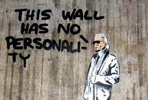"""#StreetArt / """"Street art - the Lill rebel in me loves this"""""""