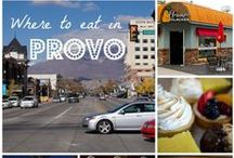 Provo Eats / Experience all of the delicious food Provo has to offer! From sweets and treats to global cuisine our food scene has something for you.