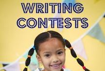 Writing Contests for K-4 Teachers / Resources for teachers grade K-4 to inspire young writers