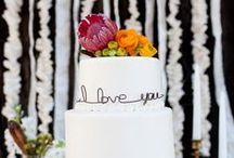 Gâteau de mariage / Inspirations pour un joli gâteau de mariage www.mllebride.com