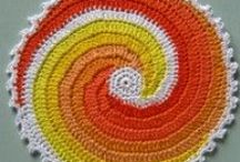 Potholder crochet