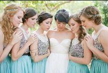 Tenues demoiselles d'honneur / Idées de tenues pour les demoiselles d'honneur ou les invités à un mariage www.mllebride.com