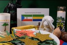 Equatorial Guinea & Gabon / About the food and culture of Equatorial Guinea and Gabon. Get the recipes and join the culinary journey around the world at http://www.internationalcuisine.com it's free!