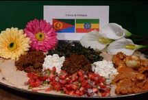 Eritrea & Ethiopia / About the food and culture of Eritrea and Ethiopia. Get the recipes and join the culinary journey around the world. One new country per week at http:/www.internationalcuisine.com it's free!