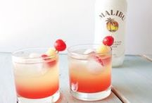 Cocktail Recipes / A collection of cocktail recipes for any season. Mojito recipes, tequila sunrise recipes and more.