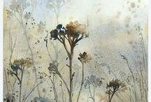 °Art: Botanic sketches° / Акварельные зарисовки растений