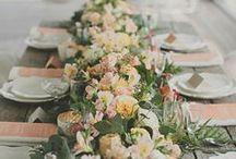 Decor: Wedding table / Свадебные декор столов