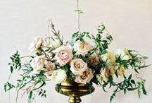 Decor: Table flowers / Цветочные композиции на столы