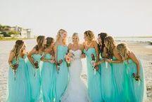 Color wedding: Tiffany / Тиффани - цвет года 2014