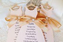 Guests: Bridesmaids cards / Приглашения для подружек невесты