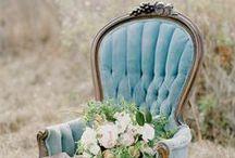 Color wedding: Blue