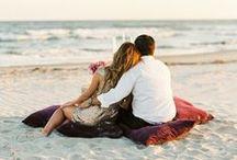 Place: beach wedding / Свадьба на пляже