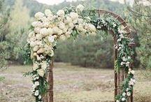 Decor: Arches / Свадебные арки для выездной регистрации на природе
