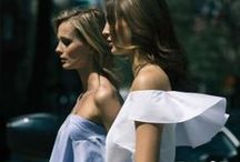 Off the shoulder trend / One trend that defined the SS16 collections, its the off the shoulder silhouette.