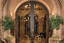 Doors - Beautiful Doors ! / The Entrance and Exit of our homes and other places should be interesting and have charm.